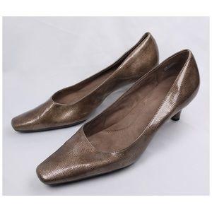 Aerosoles CHEERFUL Women's Bronze Med Heel Pumps